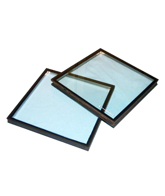 Cut To Size Double Glazing Glass Units 28mm Obscure Toughened Glass BlackSpacer