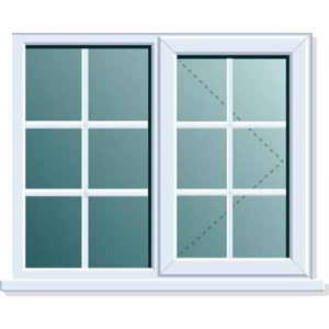 Pvcu Georgian Bar Side Fixed Casement Windows