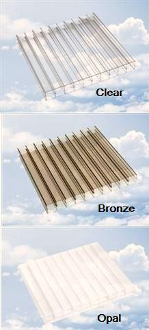 Cut To Size Polycarbonate Rectangles 16mm Triple Wall Clear