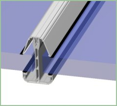 25mm Self Support Glazing Bar Ect