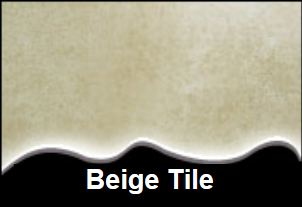 Beige Tile Internal Cladding