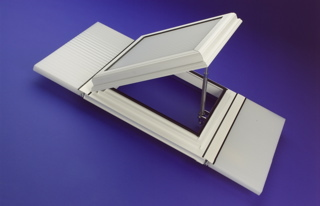 Roof Vent For 25mm Polycarbonate / Glass