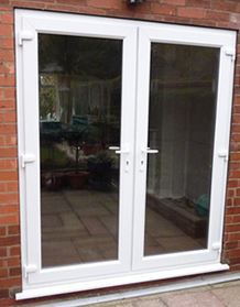 French Doors Glazed