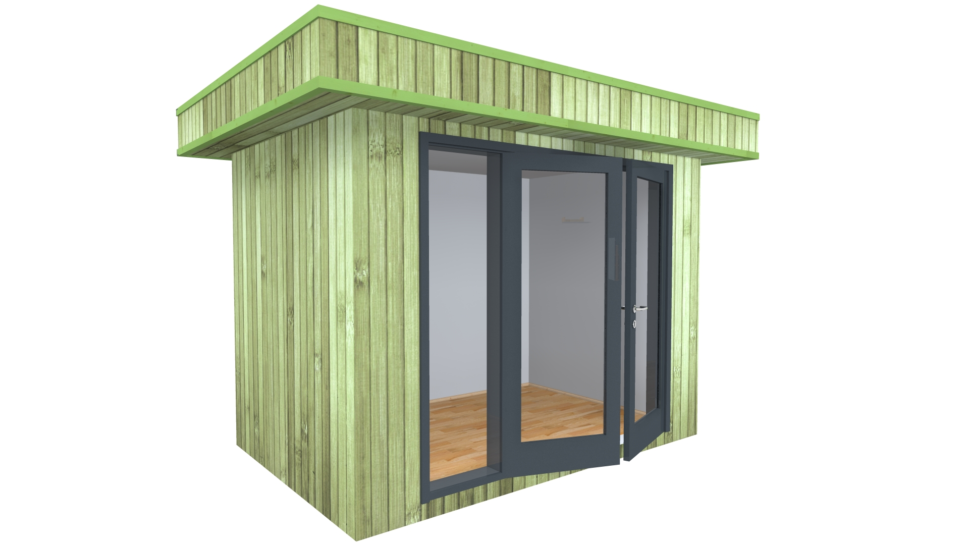 Modern garden offices birou modern office 3x2 kantoor for Garden shed 3x3