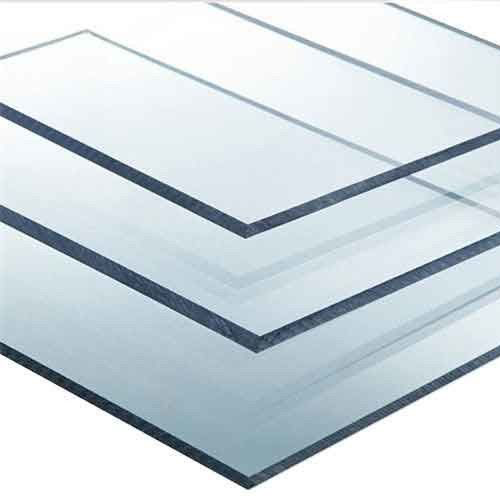Solid Polycarbonate Cut To Size 4mm Solid Polycarbonate clear