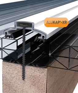 Alukap Xr Timber Support Glazing Bar System White Alukap