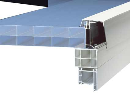 Ultralite 500 liv supplies ultralite 500 panels for Velux cladding kit