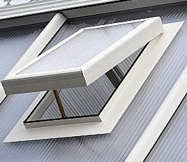Polycarbonate Sky Light Roof Vent Roof Vents 25 35mm
