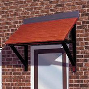 A simple mono pitch clay tile effect canopy. & Door Canopies - LIV Supplies | Carisbrooke | Cheltenham | Berkley