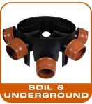 Soil Pipe (above) & Underground Drainage