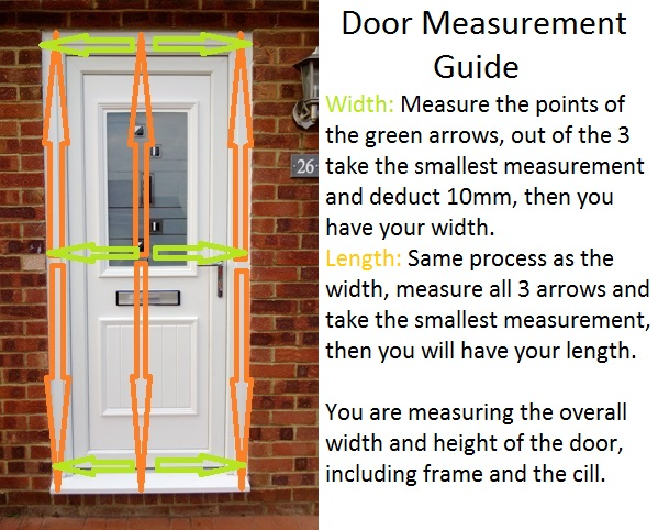 Door Measuring Guide