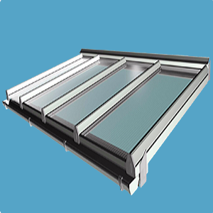 Roof kits roof lanterns skylights lean to roof in a box for Velux cladding kit