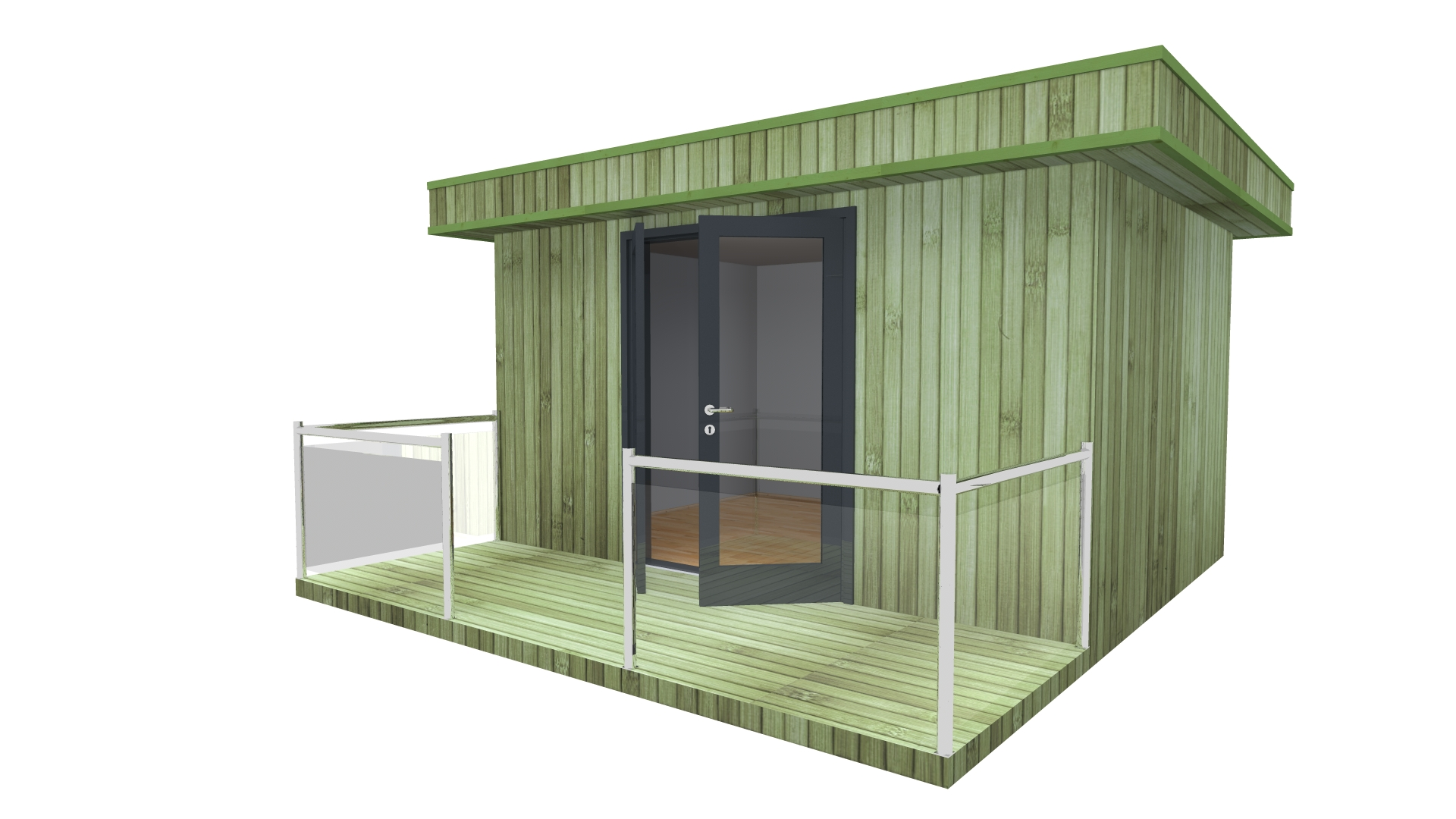 Biuras Modern Office 4x3