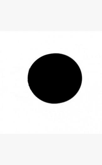 Black Acrylic Discs Circles Coloured Acrylic Discs Circles