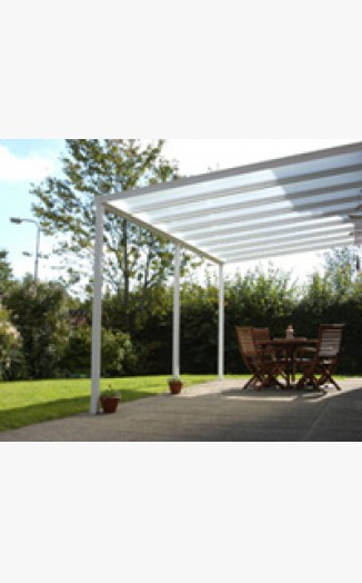 Maxiport Canopy System - 3 Metre Wide (White)