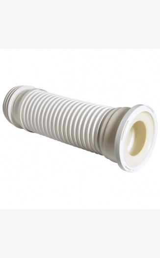 Flexible extension soil to wc connector above ground for Soil drainage system