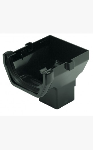 Ros2 Stop End Outlet Floplast Square Guttering