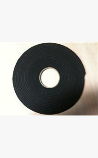10x5 Double Sided Security Trim Tape Black 15m Double