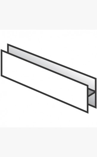 H Section Joint For Hollow Soffit Boards