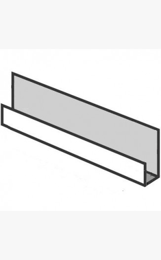 J Section Joint For Hollow Soffit Boards