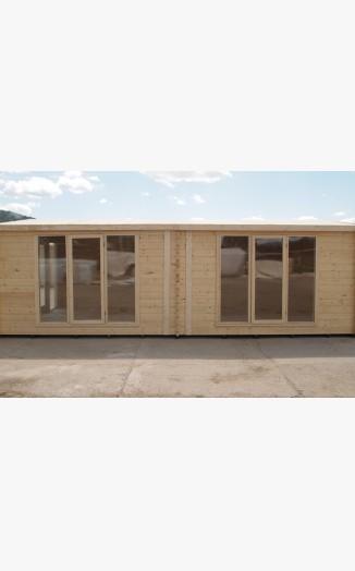 Stavam Log Cabin 3 9x7 5 70mm Wall Thickness Stavam Log