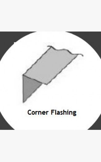 90 Degree Corner Flashing
