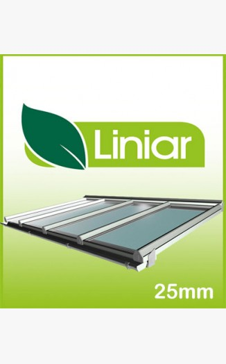 Liniar 5 Metre Projection(away from wall) Kit Roof