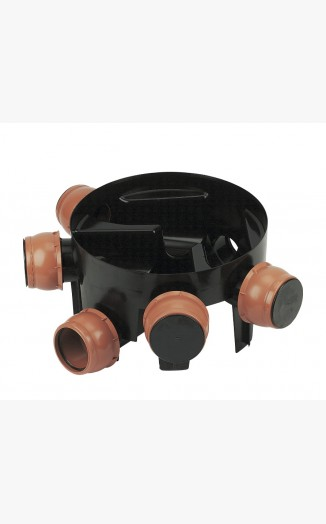 270mm Deep Multi Inlet Chamber Base 5 Inlets
