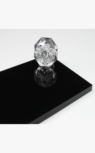 Black Hi-Gloss Acrylic Sheet | Black Acrylic sheets cut to size