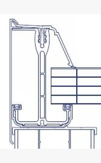35mm Self Support End Bar 35mm Self Support Glazing Bar Ect