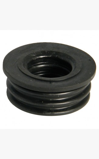 Boss Adaptor Rubber Push Fit Black Above Ground
