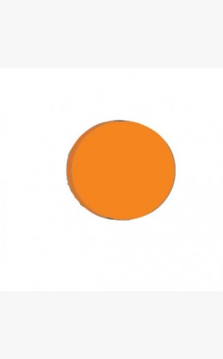 Orange Acrylic Discs / Circles