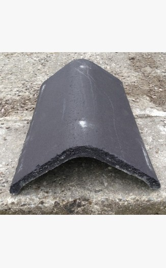 Marley Modern Ridge Smooth Grey 457mm Roofing Tiles