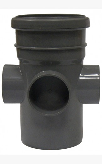 Boss pipe socket solvent above ground drainage