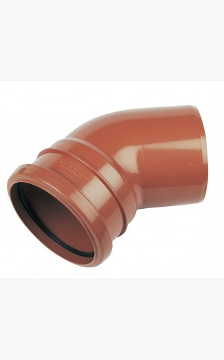L 45° Single Bend Socket / Spigot