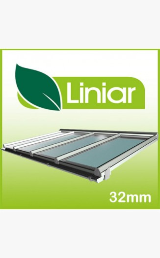Liniar 2 Metre Projection(away from wall) Kit Roof