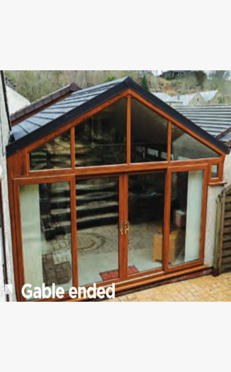 Apex Gable Guardian Warm Roof Apex Gable
