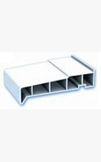 End cap for 85mm exterior window cills for Velux cladding kit