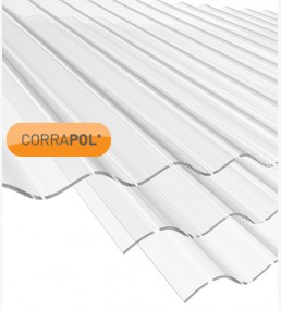 Corrapol Clear Corrugated Sheet