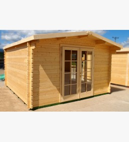 Tass Log Cabin 3x3 70mm Wall Thickness