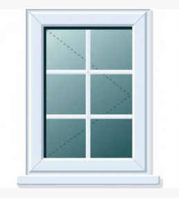 Pvcu Georgian Bar Side Casement Windows