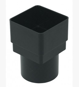 (RDS2) Square To Round Downpipe Adaptor