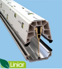 Liniar 25mm Self Support Glazing Bar