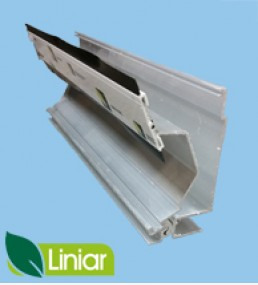 Liniar 25mm Self Support End Bar