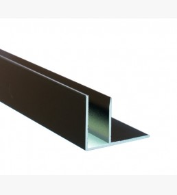 Brown Aluminium F Section
