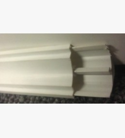 Cornice 2 Part Coving Trim White