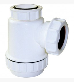 Bottle Trap 38mm Seal White