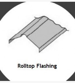 Rolltop Ridge Flashing