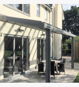 & The Simplicity Alfresco Glass Canopy