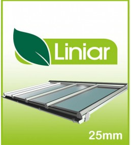 Liniar 4.5 Metre Projection(away from wall) Kit Roof